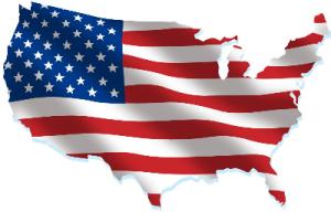 bandera-de-estados-unidos-sobre-el-mapa-del-pa-s
