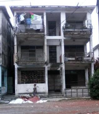 Vista del edif. sito en Zapotes 113, S.Suarez