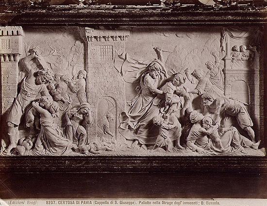 550px-Brogi_Carlo_1850-1925_-_n._8237_-_Certosa_di_Pavia_-_Cappella_di_S._Giuseppe_-_Paliotto_colla_strage_deglInnocenti_